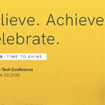 Image for the Tweet beginning: Woman in Tech Conference-  Believe.