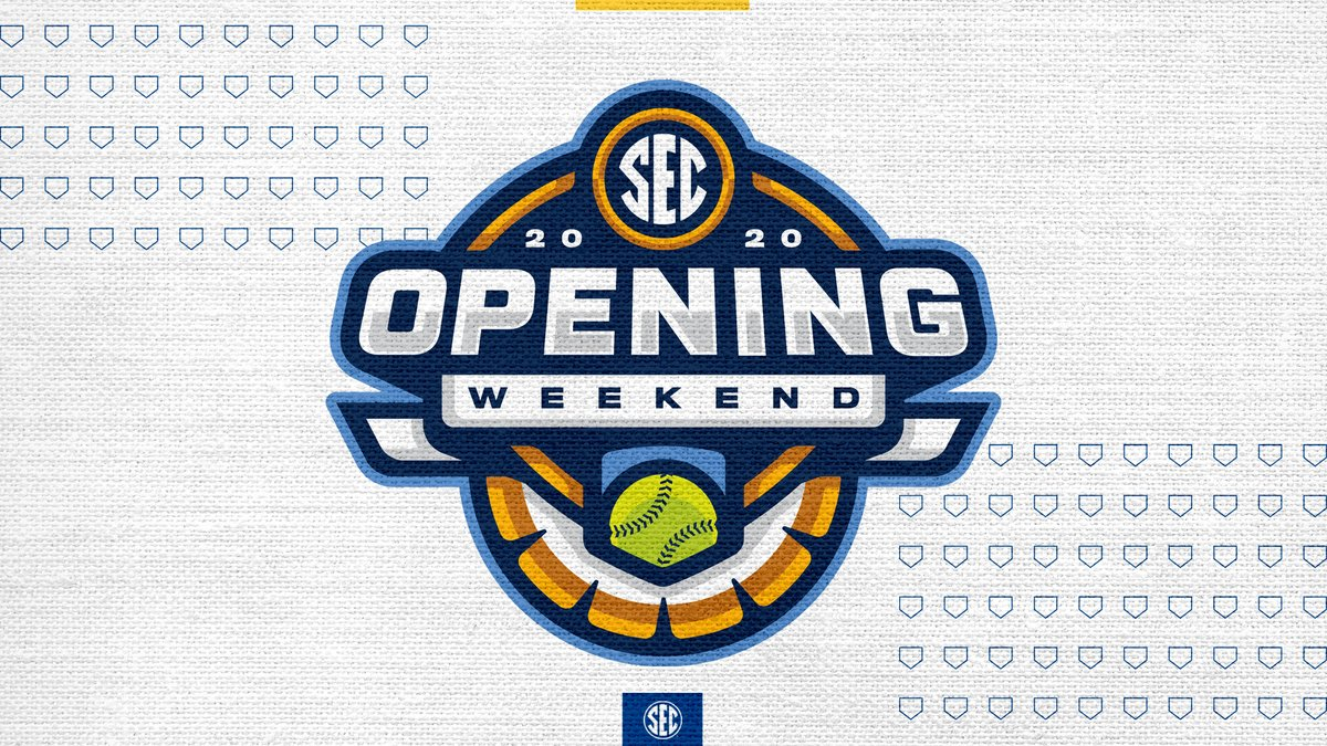 Opening weekend of #SECSB conference play has arrived! Full schedule » bit.ly/3av1fQv