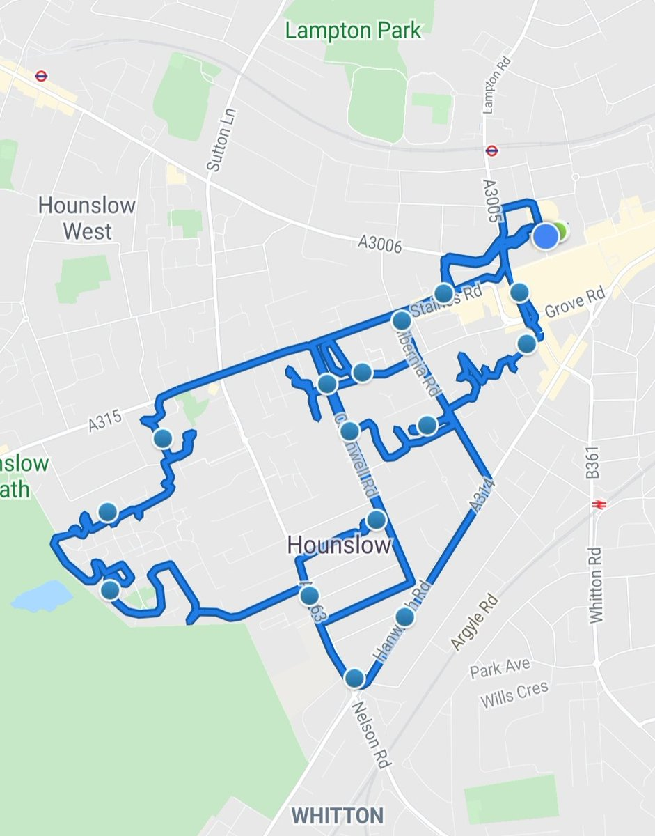 Hounslow Heath SNT officers were busy today patrolling  various parts of the ward, carrying out Anti social behaviour  & weapon sweeps, visiting victims of motor vehicle crime & anti social behaviour   #BeSafe ##anti-socialbehavour #MOTORVEHICLECRIME pic.twitter.com/gDeUXIpMlC