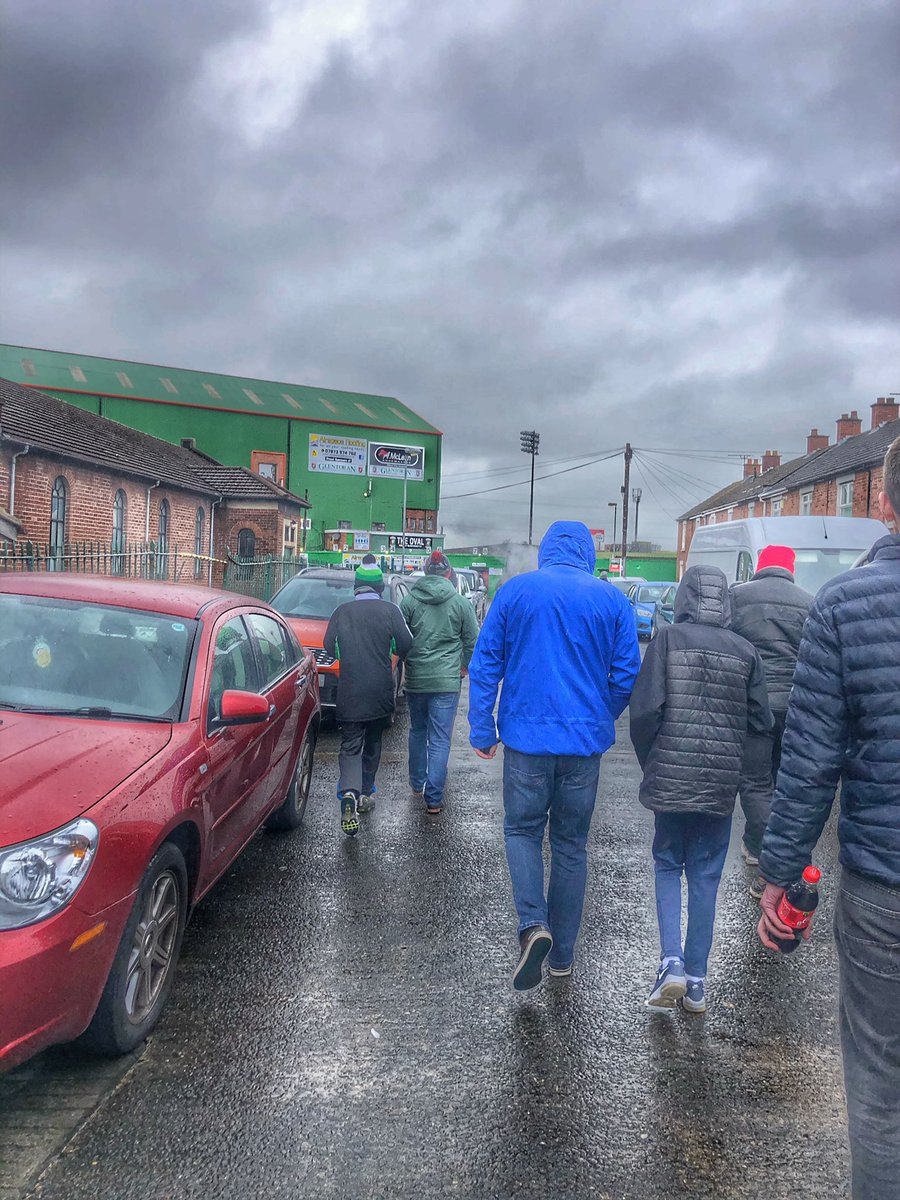 For each a road For every Glentoran fan a religion