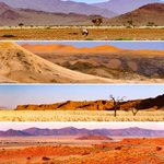 Image for the Tweet beginning: Namibia offer endless astounding scenic