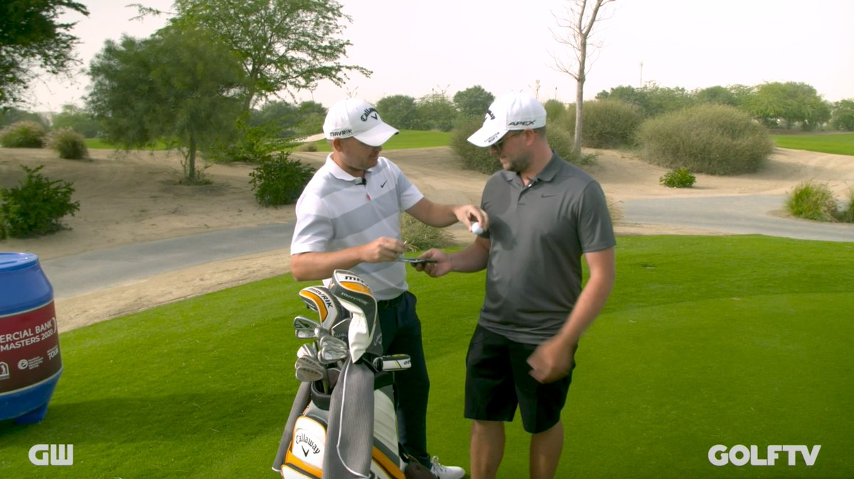 Ever wondered what would happen if a player and caddie swapped roles? We found out.