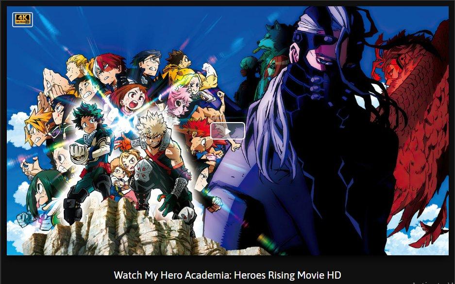 My Hero Academia Heroes Rising 2020 Full Movie Stream Reddit English