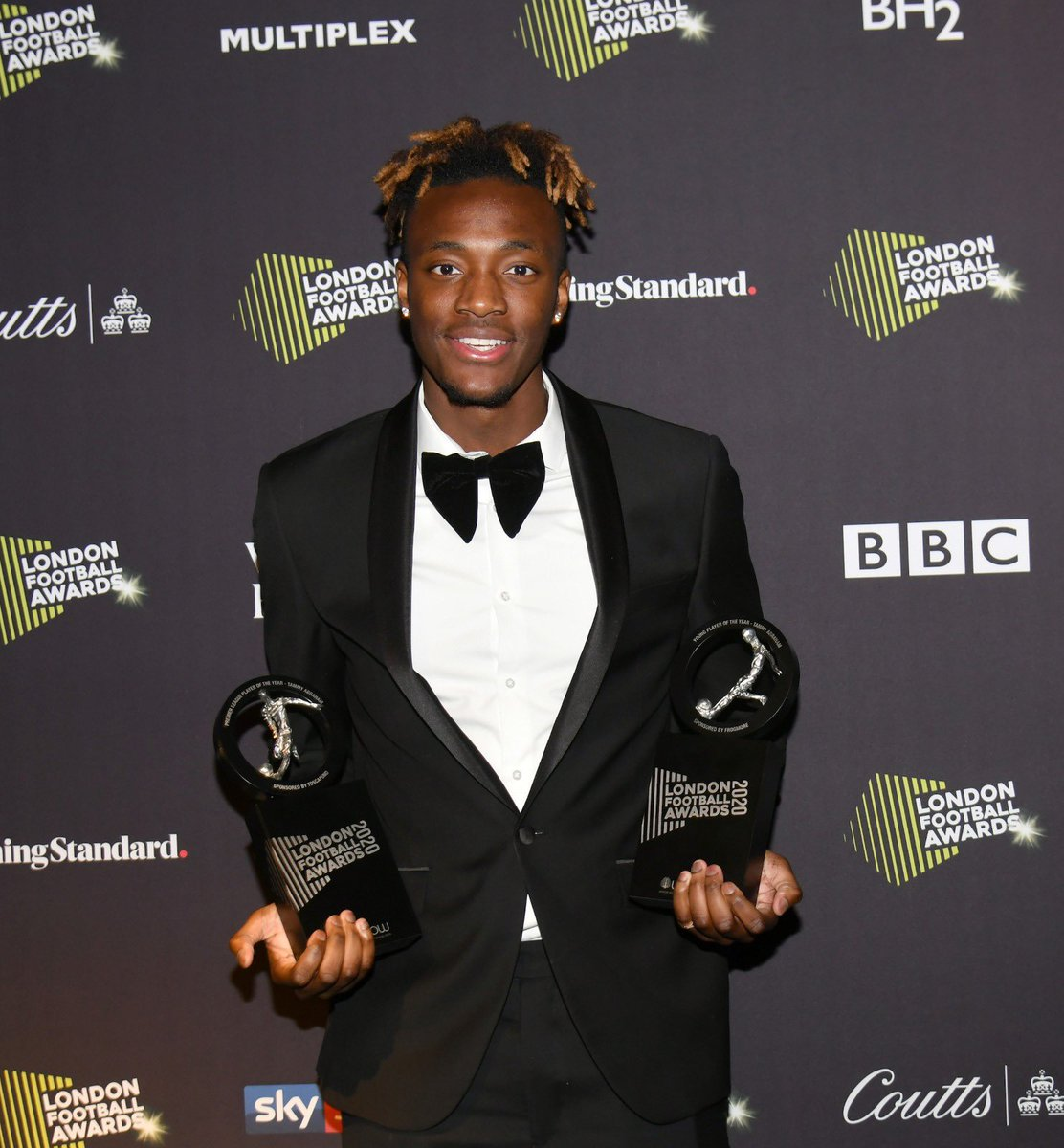 Truly honoured to be voted amongst so many greats for London Premier league player of the year & Young player of the year 🙌🏾🏆 just the beginning, the hard work continues 🙏🏾