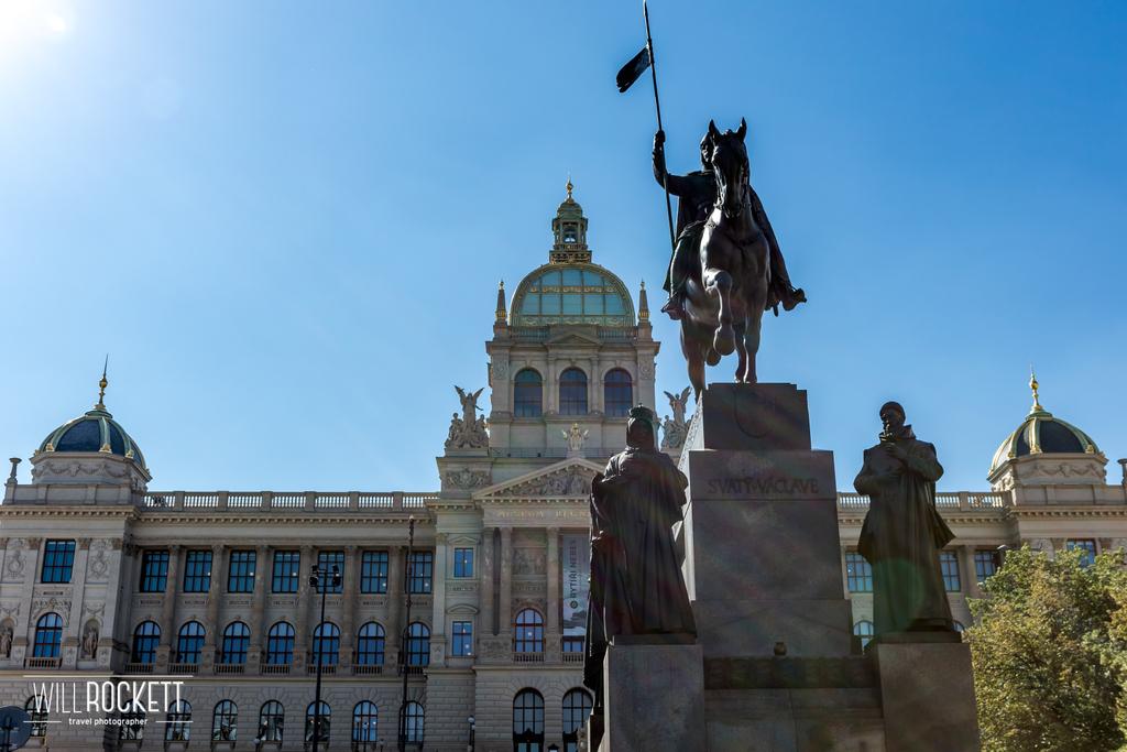 #Wenceslas  Square in #Prague , #Czech  Republic 🇨🇿