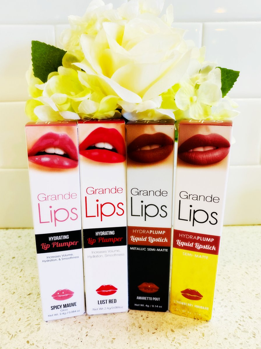 Take Your #Lips to a Whole New Level with Grande Cosmetics' #GrandeLIPS! #GrandeCosmetics #PRGift #Beauty #Makeup #LipGloss #LipStick #MakeupAddict #BeautyBloggers #AZBlogger #MakeupoftheDay #MakeupJunkie   https://www.livingafitandfulllife.com/2020/03/take-your-lips-to-whole-new-level-with.html …pic.twitter.com/W4VEaQCkOn