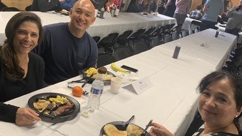 test Twitter Media - This morning, we celebrated our outstanding #employees with eggs, bacon, pancakes and more! Our executive team even did the flipping, aprons and all. Thank you again, BST Global staff, for all you do for our company and its clients. #grateful #happyfriday #moreeggsplease https://t.co/AWIZWbn317