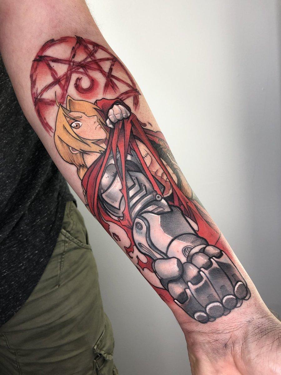 Josh L Otaku ĺ€ On Twitter Bon On Est D Accord Mon Nouveau Tatouage Est Une Tuerie Fullmetalalchemist Tatoo