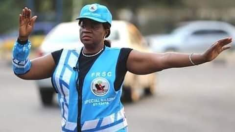 Meet Hon. Justice Monica Dongban-Mensem, Nigeria's acting Pres. of the Court of Appeal who spends her free time controlling traffic.  Following the murder of her son by a hit-&-run driver 8 years ago, Just. Dongban-Mensem, now spends part of her time controlling traffic in Abuja.