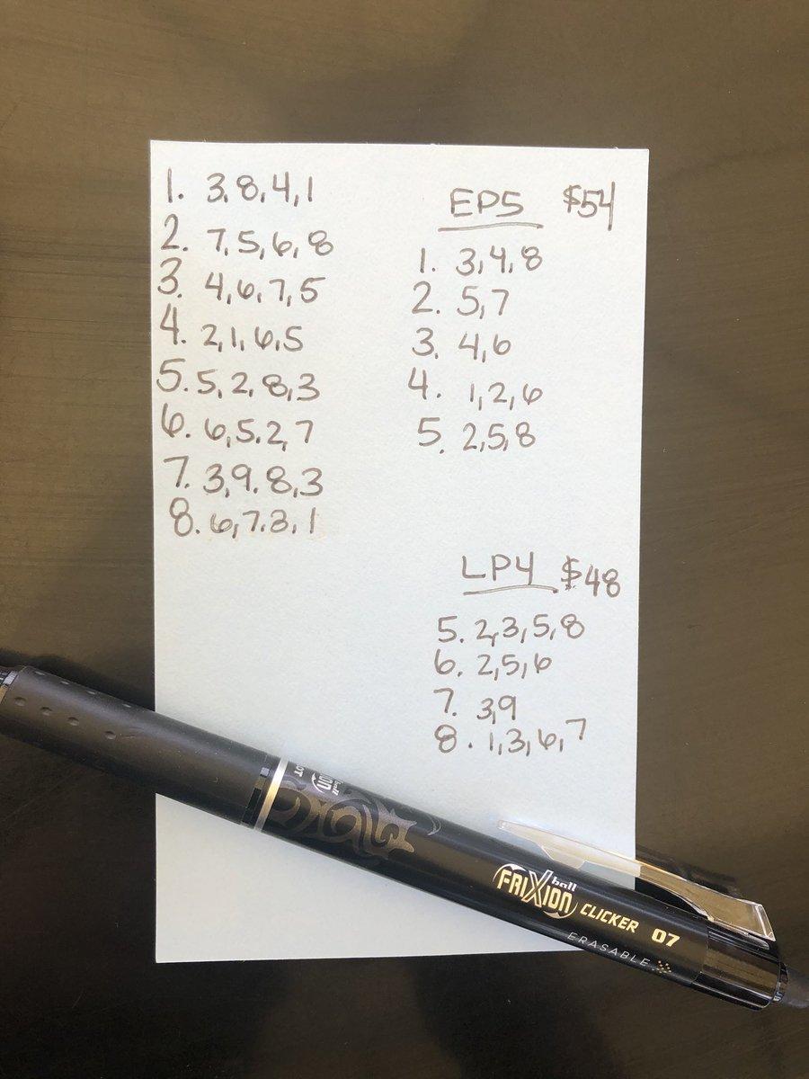 5X Rubber Eraser for Erasable Friction Pen Stationery 2019