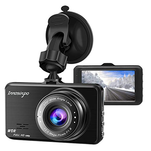 WDR Night Vision Dash Cam,Wifxbot FHD 1080P 3 Inch Screen Dash Camera 170 Wide Angle Car Camera with G-Sensor Loop Recording Parking Monitor 1080P