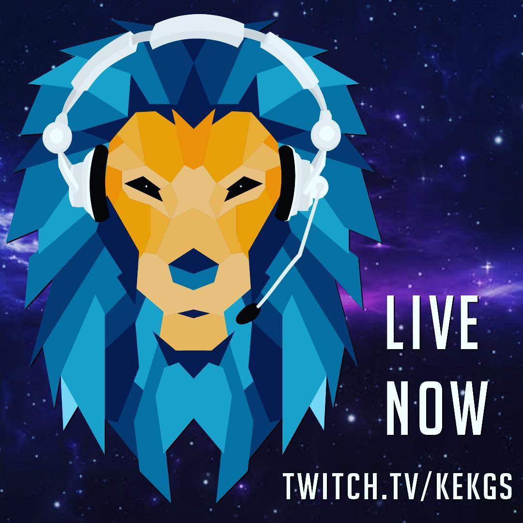 Live now:  Follow my brother:  @KekGs