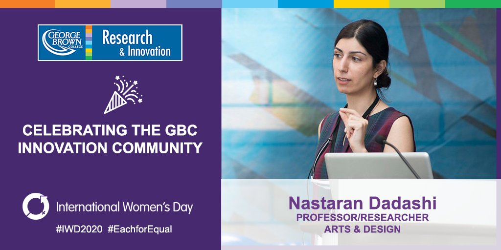Gbc Research On Twitter As A Professor At Designgbc And An Expert In Human Factors And User Experience Nastaran Leads Projects That Investigate The Way That We Interact With Diverse Platforms Including