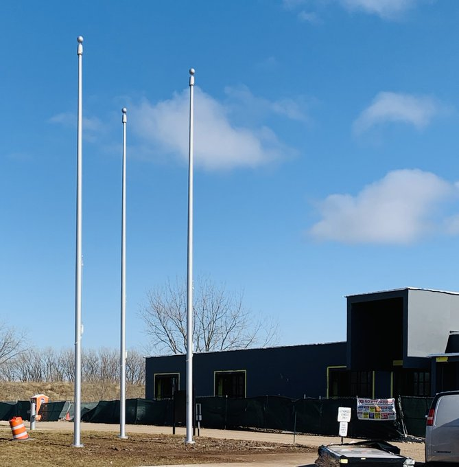 @ChicagoBigMarsh #Flagpoles #Beacon Top down #lightingdesign #winchInternalFlagpoles https://t.co/VsGoKqSEkK