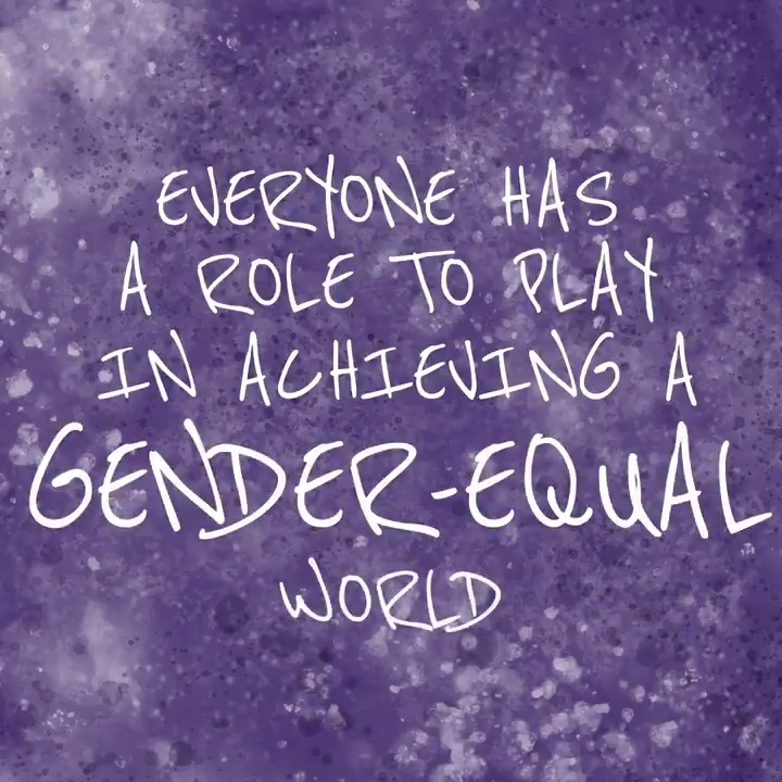 From the midwife providing care, to the gender equality activist defending human rights, to the father supporting the education of his daughter, everyone has a role to play in achieving a gender equal world.  #InternationalWomensDay #GenerationEquality #BecauseOfYou
