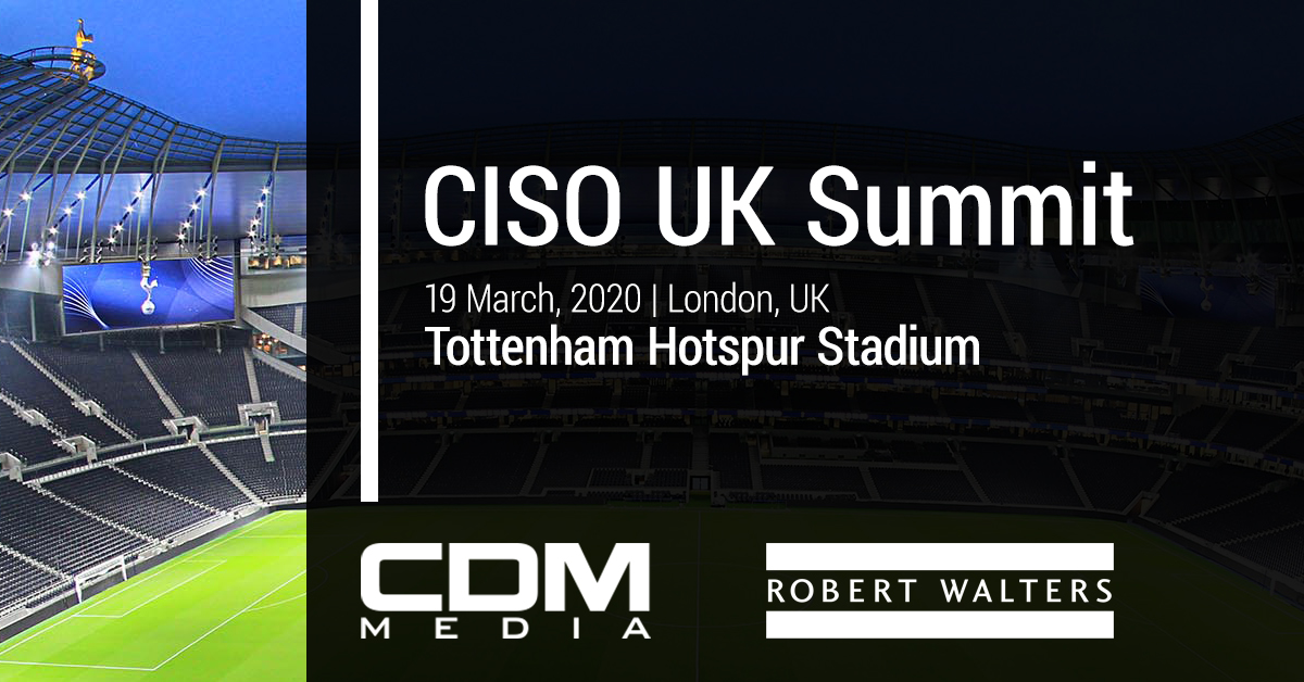 We're happy to announce our partnership with Robert Walters on our cybersecurity summit in London, March 19th. Don't miss out on this event at Tottenham Stadium! Register Now>> https://t.co/JDZTmOzCYw  #CISOUK #CIOUK #CISOLondon #CIOLondon #cybersecuritysummit  #robertwalters https://t.co/mRSgtqOH7q