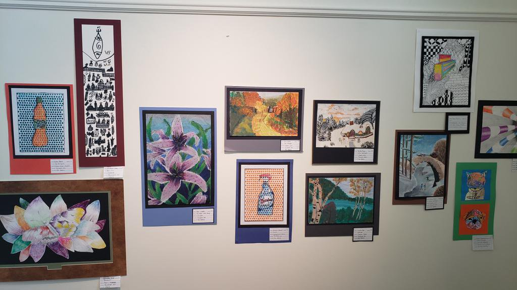 TJHS is well represented at the TAF Art Show!!!