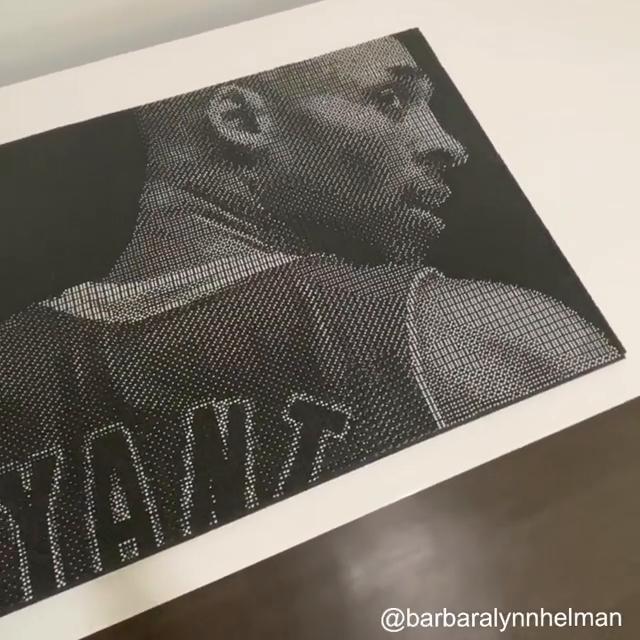 Kobe Bryant. 5,292 dice. SPEECHLESS. 👏 (via barbaralynnhelman/Instagram)