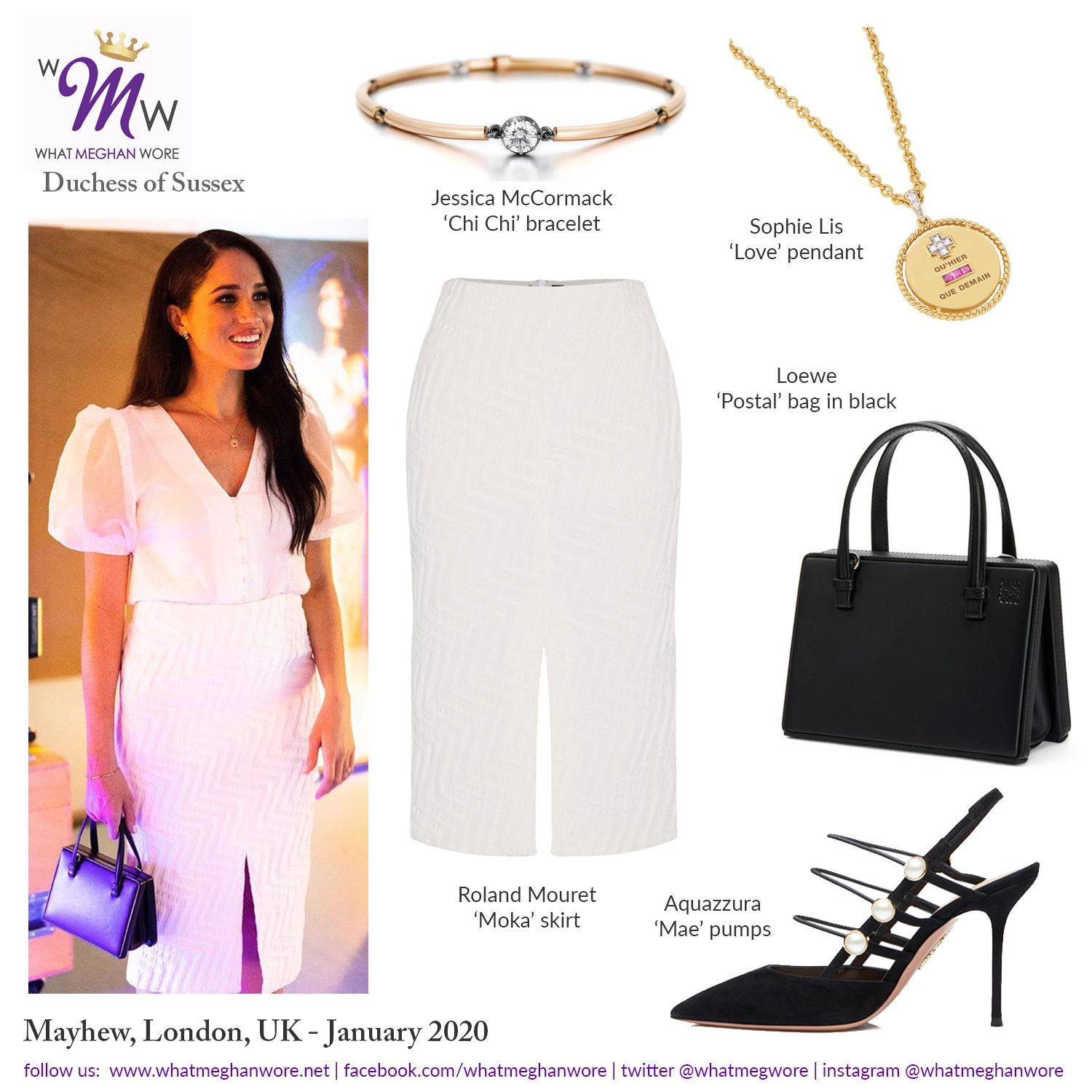 What Meghan Wore On Twitter Check Out Our Latest Post Https T Co Ybhlikudog Meghan Visits Immersive Storytelling Studio In London Wearing Roland Mouret And