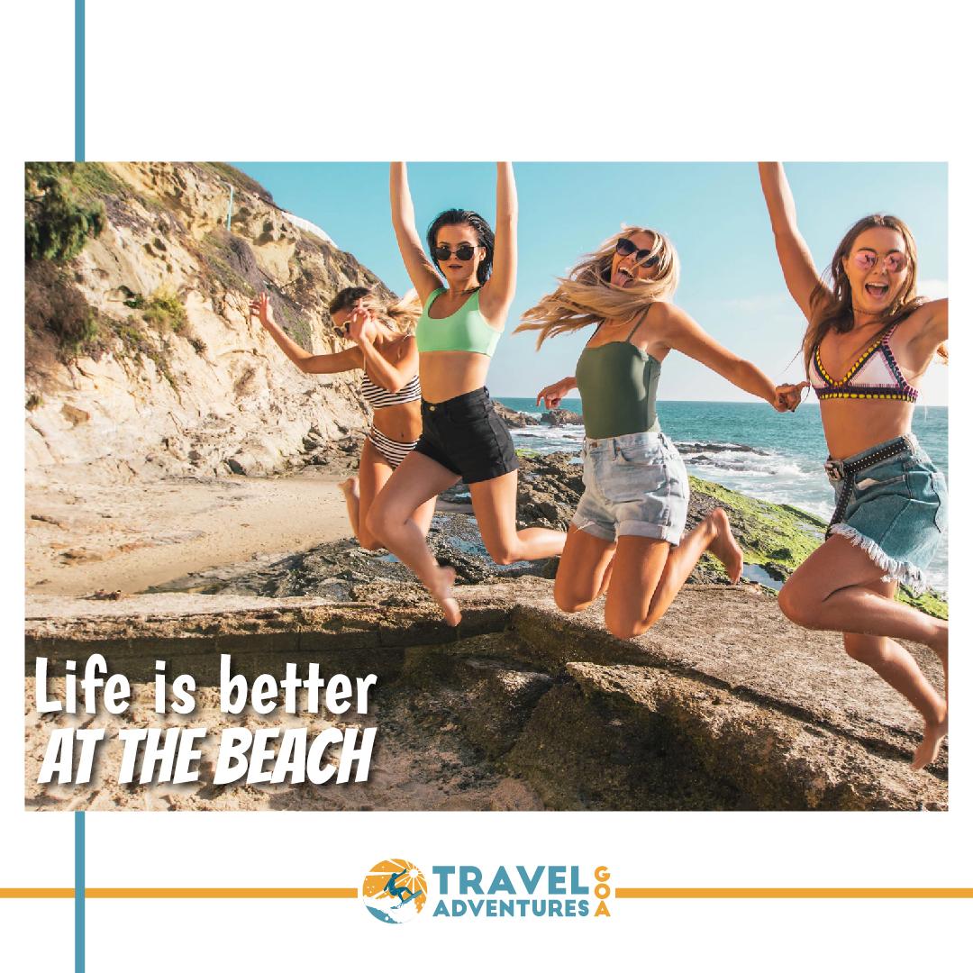 Giving you the best Goa  has to offer. Find the perfect activity for you at https://traveladventuresgoa.com/ . . #saturdayvibes #traveladventuresgoa #wanderlust #beachplease #travelgoa #travelfarandwide #tourgoa #lovegoa #weekends #bookwithus #eatlocal #catchacrab #beachesofgoa pic.twitter.com/05jPjXdURE