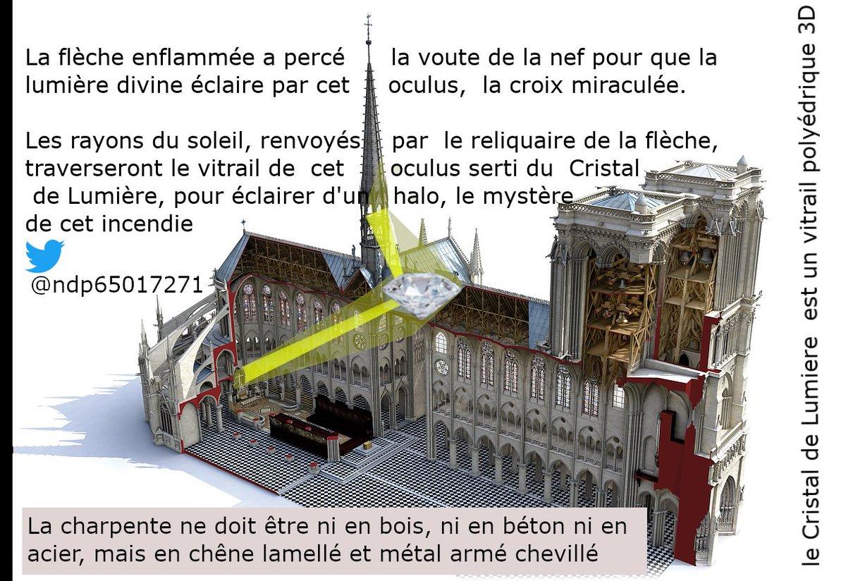 Le Christ de Notre Dame doit être éclairé comme Ramsès II a Abou Simbel grâce à la nouvelle flèche. retweeter @AdeMontchalin @afpfr @AirFranceKLM @AleteiaFR @AlexandreCHASS6 #PresseLouvre #RebatirNotreDame #rtlmatin #Tuileries #UneFlechePourNotreDame #JeanNouvel #Nmoq