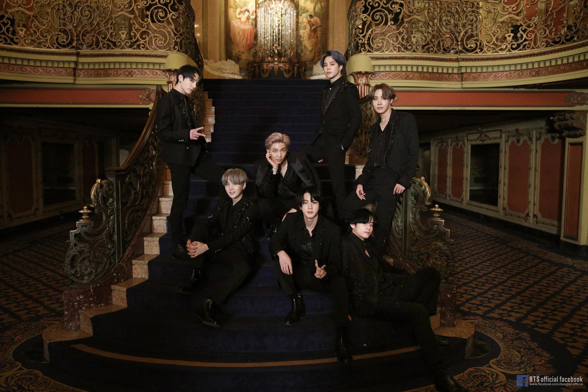 [Picture/FB] BTS 'Black Swan' Official MV Photo Sketch ...