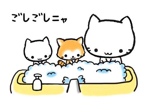 ミコちゃんたちも手洗いしてるニャ! 皆さんもお気をつけてくださいニャ!  #デザインフェスタ #デザフェス https://t.co/OnuQGOTpwT