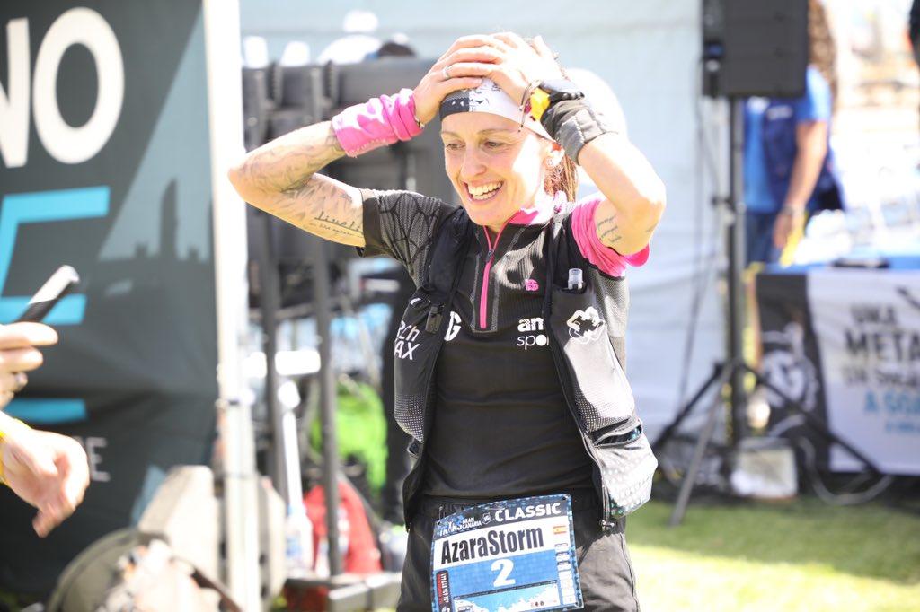 Azara García (HG Sport) is third at #Transgrancanaria in 15:31:36.