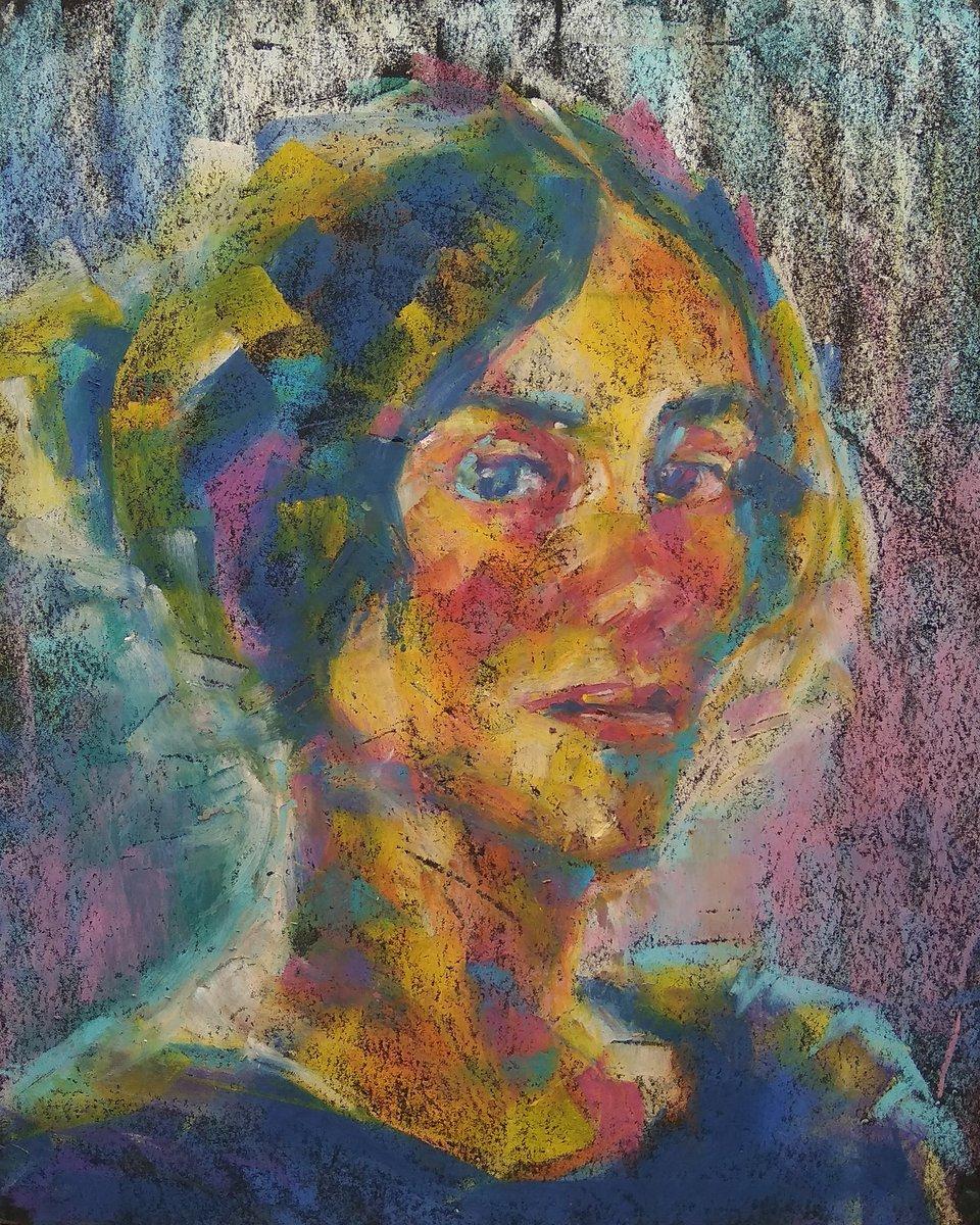 Self Portrait by Elin Danielson Gambogi 1900 oil pastel, A4  #PortraitChallenge from @StudioTeaBreak #pastelart #pasteldrawing #art #coffeesketcher #cs #portrait #zeichnung #oilpastel #Finnishpainter #thursday #selfportait #ElinDanielson  http://wikipedia.org/wiki/Elin_Danielson-Gambogi…pic.twitter.com/0uBkMaGazZ