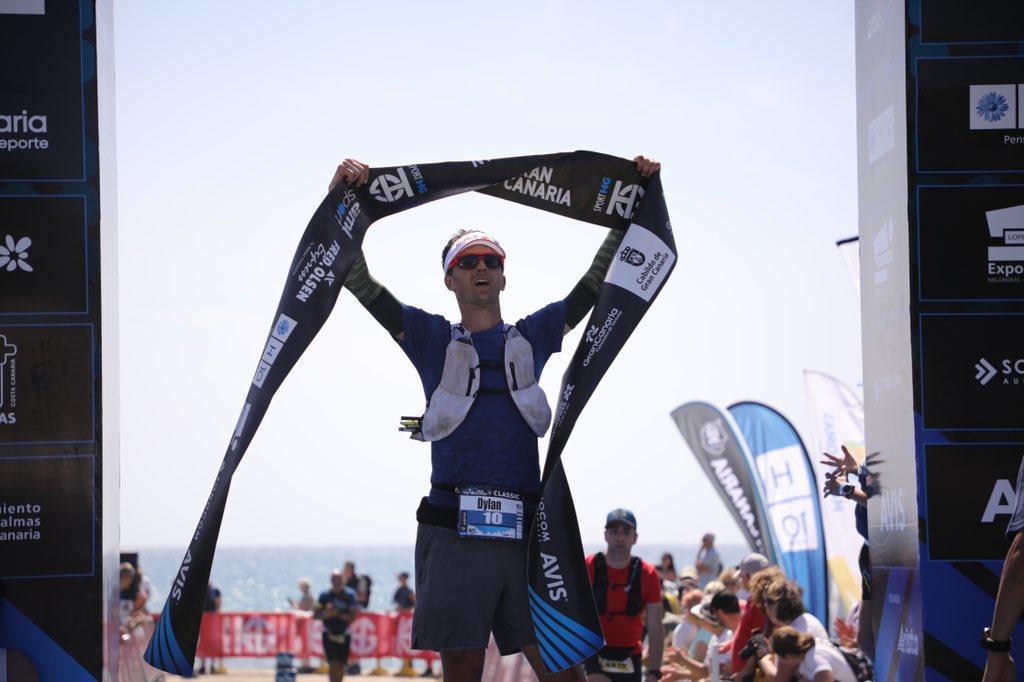 Dylan Bowman (@TheNorthFace) takes third at the 2020 #Transgrancanaria in 13:40:29.