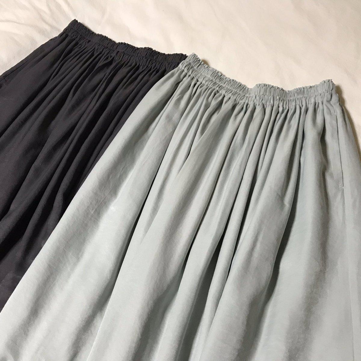 ロング ギャザー スカート ドレープ ユニクロ