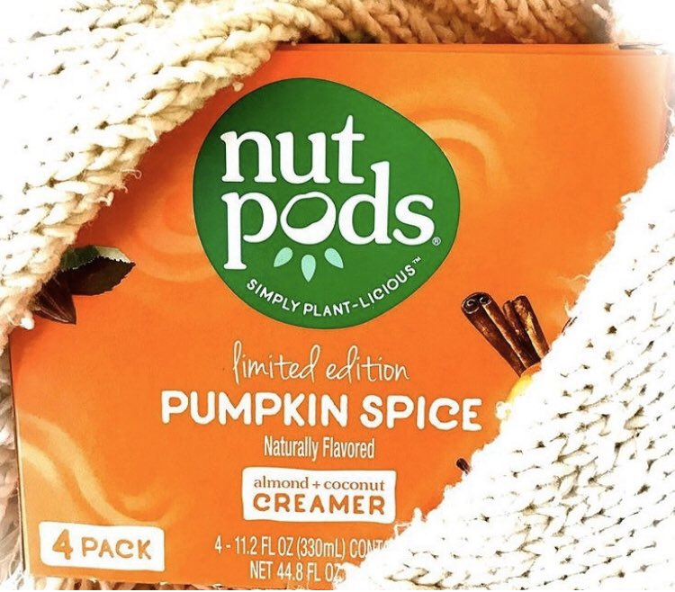 #ad #Pumpkinspice @nutpods are still available in a 12-pack so use my link  or code in bio for 15% off today! #PSL #pumpkinspicelatte #ifyouwanttoeatyouhavetocook #nutpods #CoffeeTeaCookCreate #nutpodspartner #nutpodsambassador #fall #nutpodsquad #sponsored