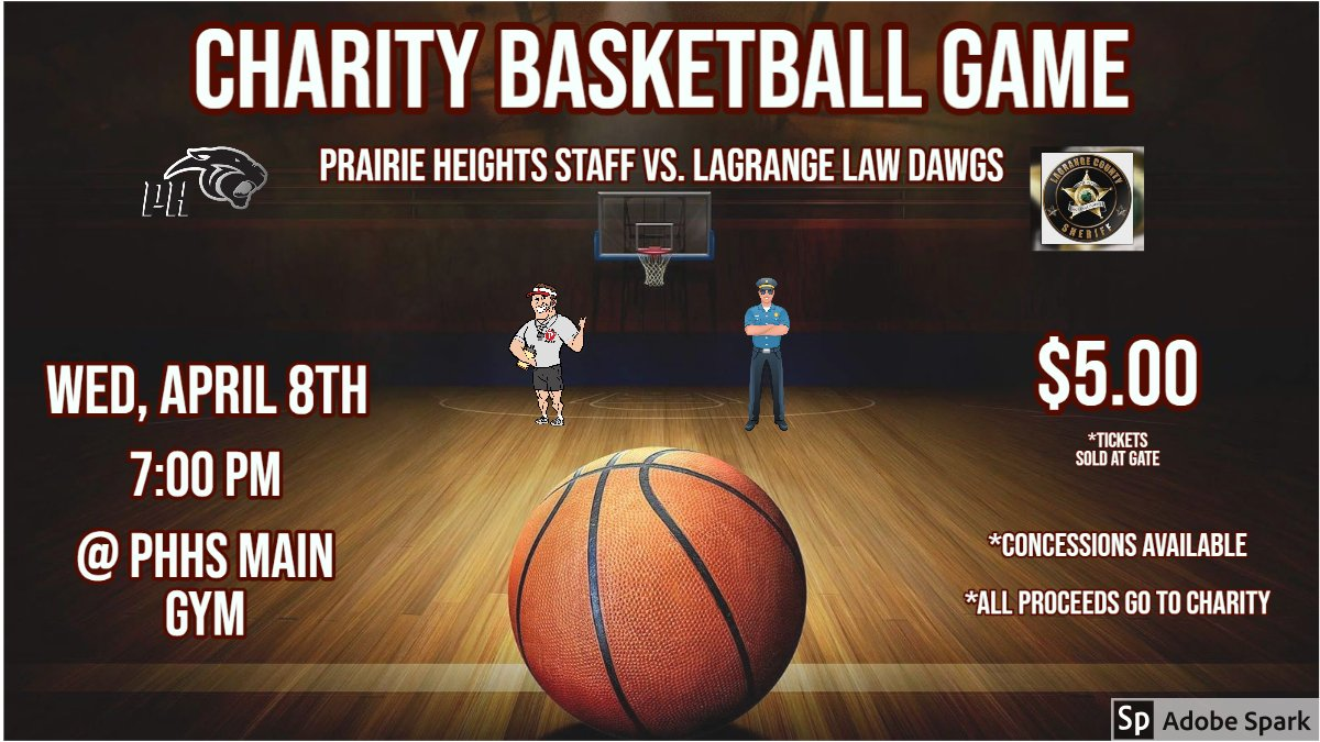PH Staff is taking on the Law Dawgs again this year!