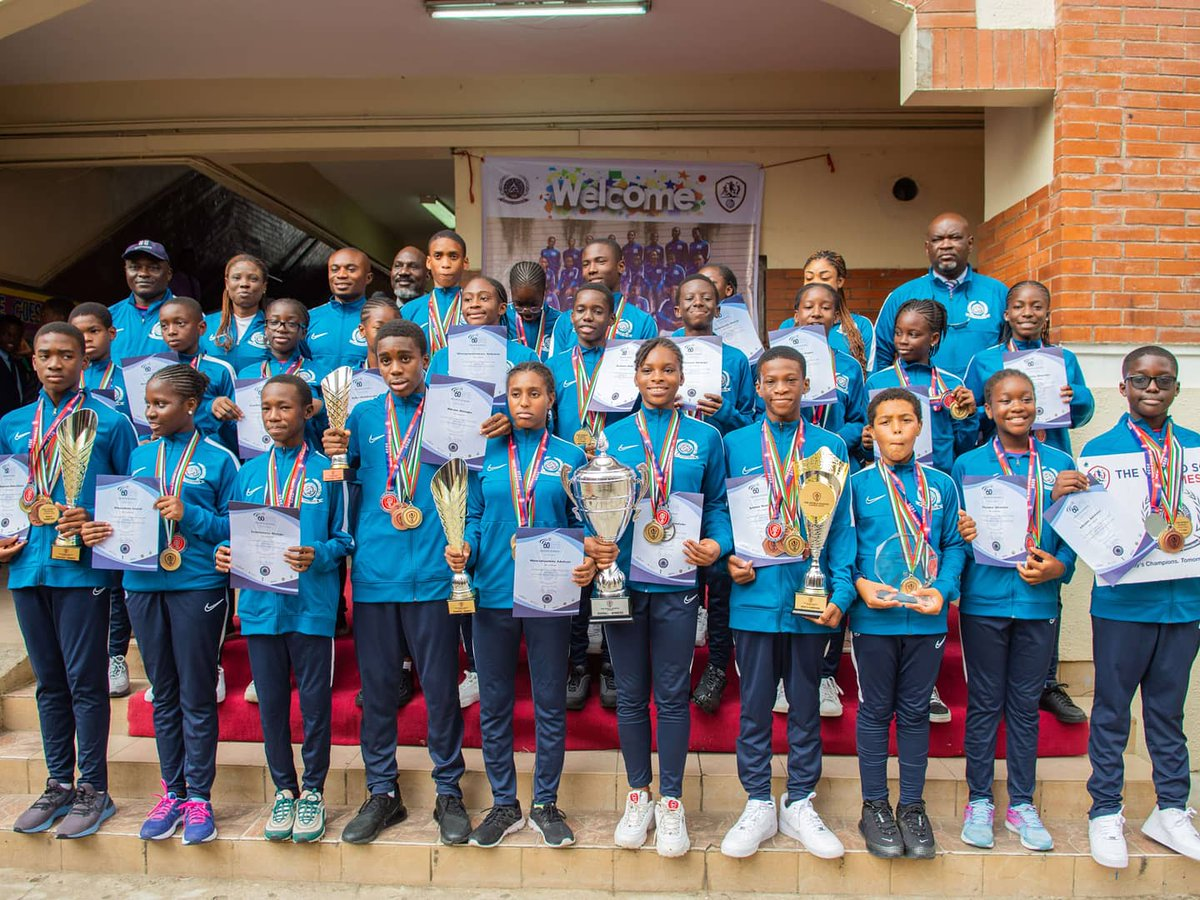 Grange School Lagos BecomeOverall Champions at World School Games, Dubai2020  Congratulations to the management, parents, and staff, too for a job well done  #DUBAI2020 #WSG2020#GSL #GrangeSchoolLagospic.twitter.com/4upvmQBOpH