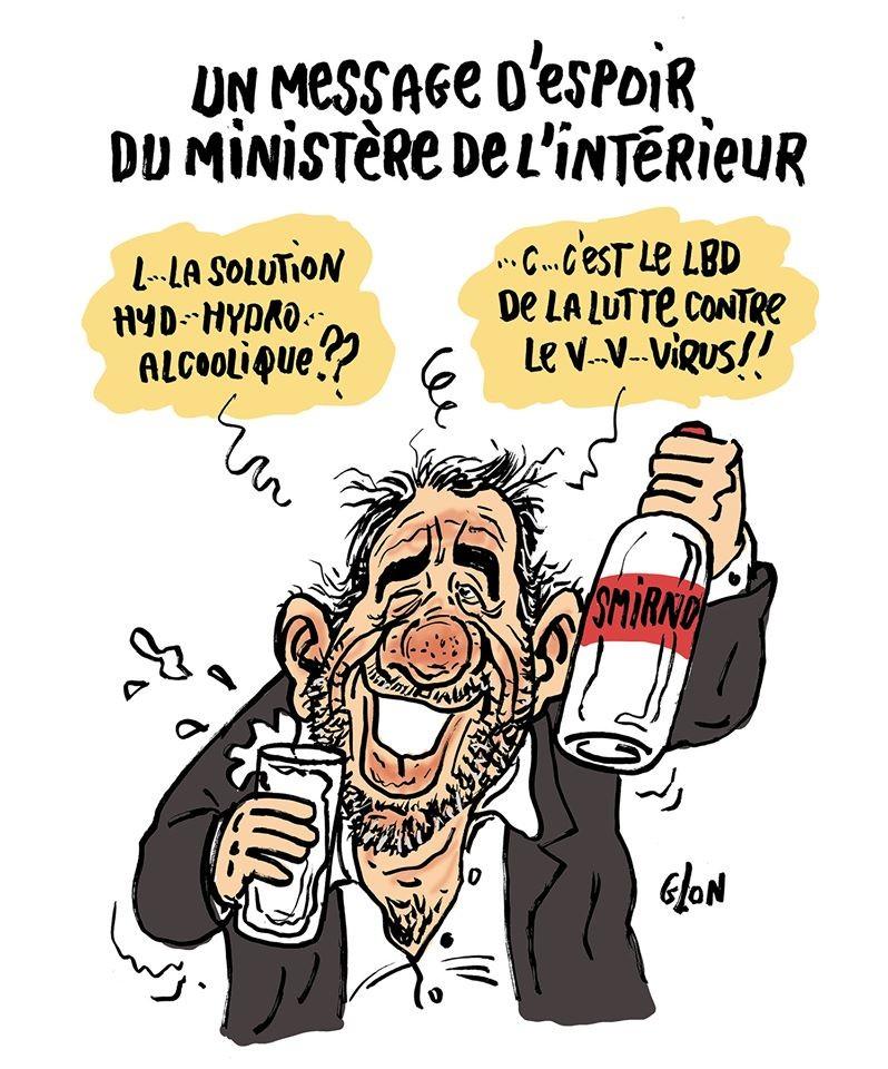 """Blagues et Dessins on Twitter: """"Le #DessinDePresse de Glon ..."""