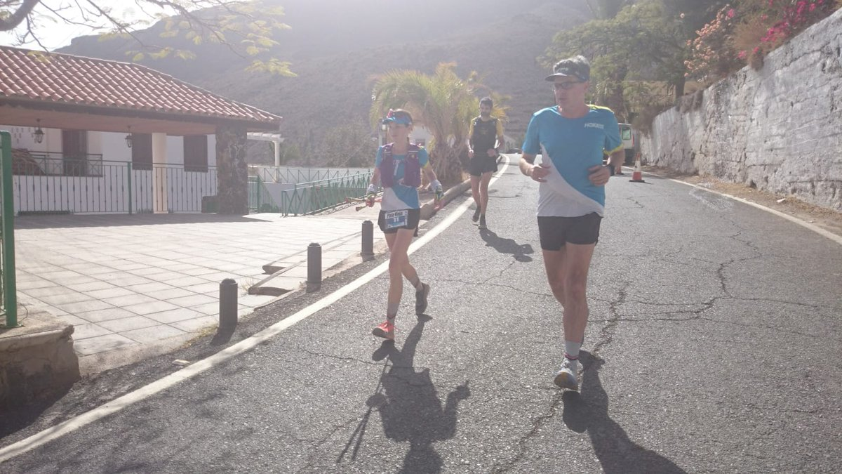 In eighth at Ayaguares (110km) is Kaci Lickteig. She's 193 minutes back and looking fine. #Transgrancanaria