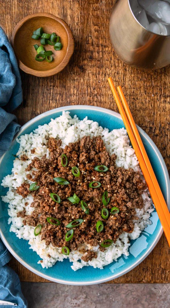 Korean Ground Beef - 15 minute dinner recipe! AD  #perduefarms_partner #dinnerideas