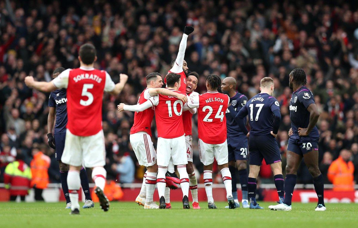 Xem lại Arsenal vs West Ham Highlights, 07/03/2020