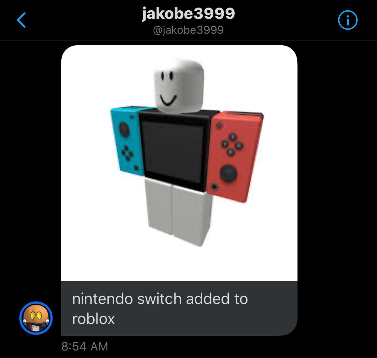 News Roblox On Twitter Nintendo Switch Is Now Available On The