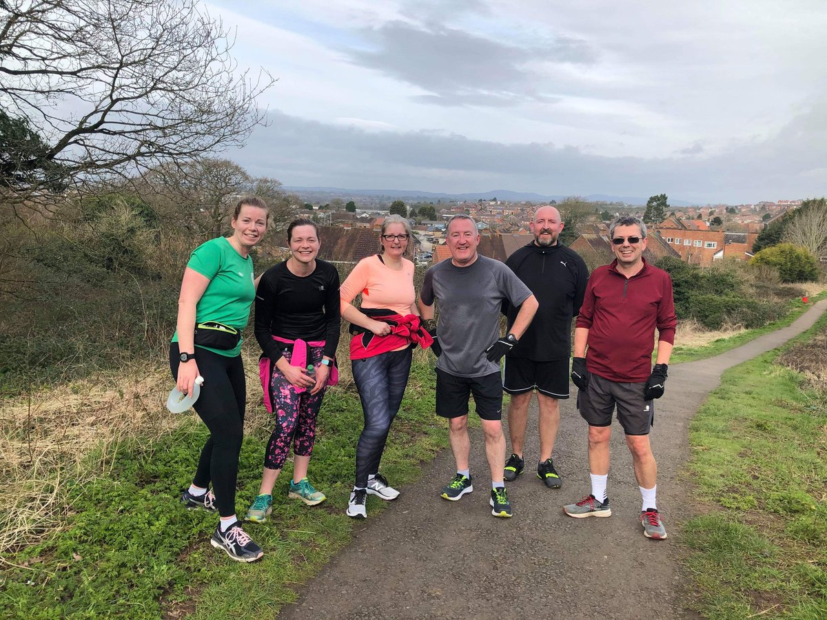 #halfmarathontraining is going well. 2 groups, one run/walk and one all running, both groups are storming it! The hand hearts for #InternationalWomensDay2020 tomorrow need practice! #WorcestershireHour  @SportsPartHW<br>http://pic.twitter.com/hXP86K5Gq2