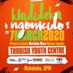 Image for the Tweet beginning: Today #MusicFreedomDay in Bulawayo, Zimbabwe