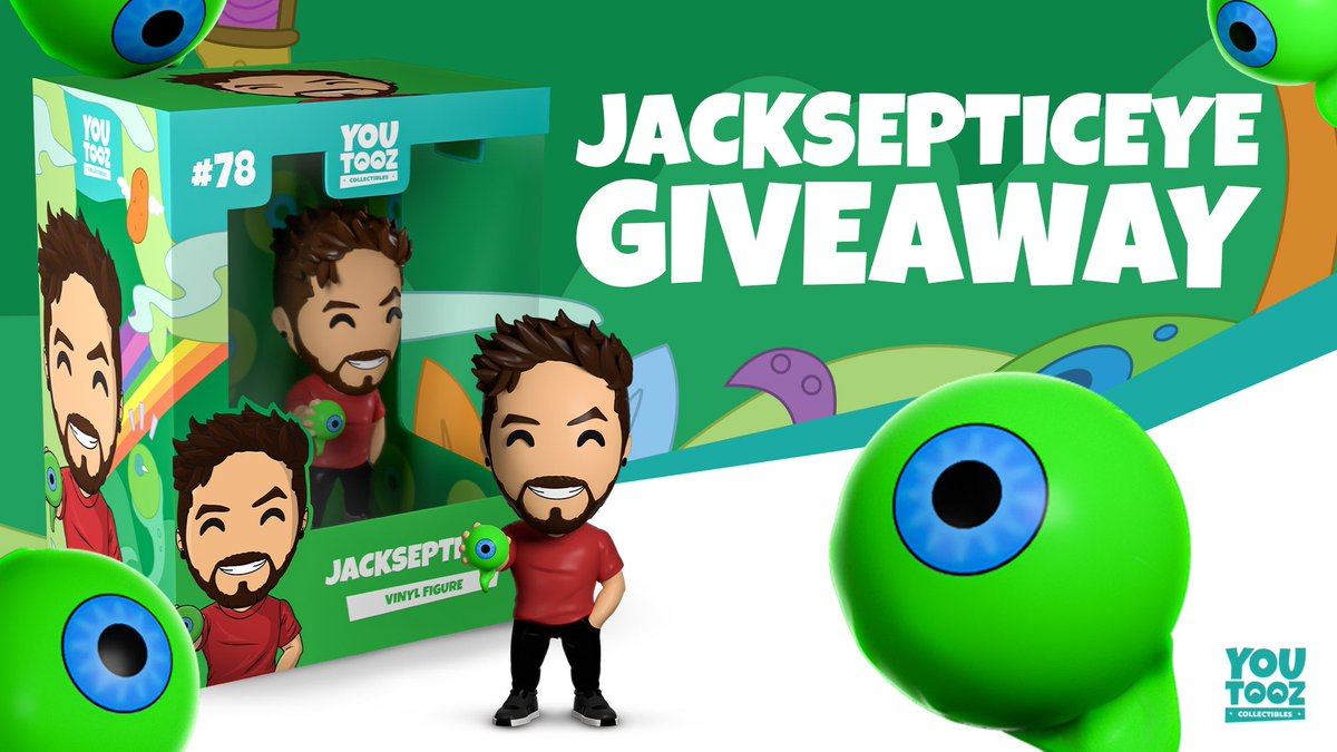 Replying to @Jack_Septic_Eye: Who wants a free one? RT this tweet + follow @youtooz and I'll pick a few people next week
