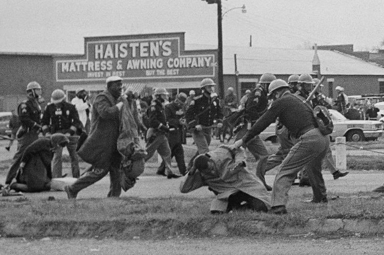 55 years ago today, we were beaten, tear gassed, and trampled by horses. I thought I saw death. I thought I was going to die. I dont know how I made it back, but I know we cannot rest. We cannot become weary. We must keep pushing and pulling and find a way to get in the way.