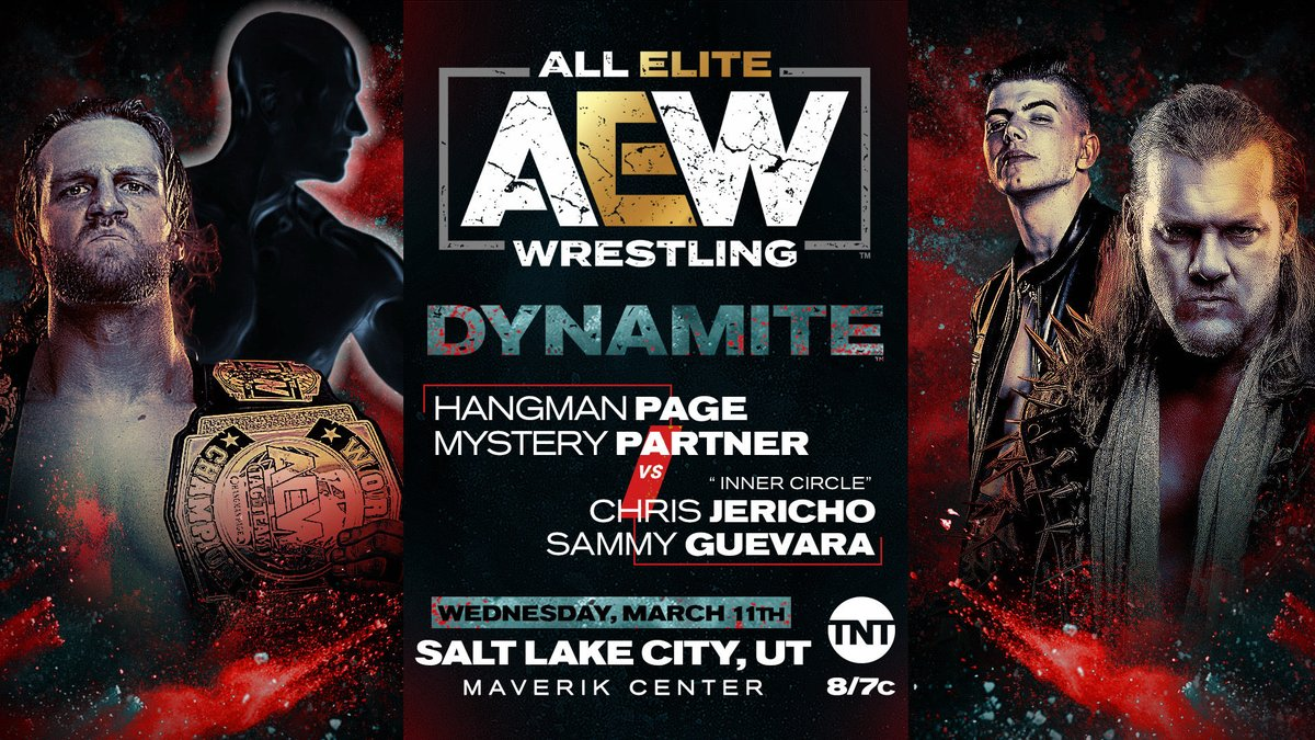 Non-Title Tag Match Announced For AEW Dynamite In Utah, Mystery Partner Teased