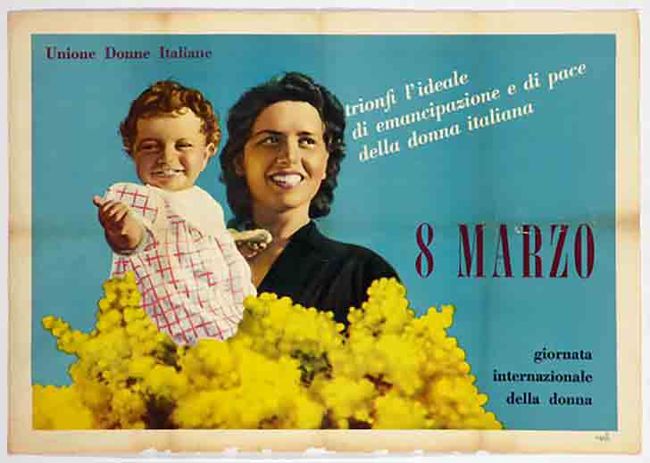 """Jennifer Macalady on Twitter: """"Italy 1946, Activists Rita Montagnana & Teresa  Mattei celebrate #InternationalWomensDay by offering branches of mimosa to  other women as a sign of mutual respect, sisterhood and support…  https://t.co/xgBNCmDWRX"""""""