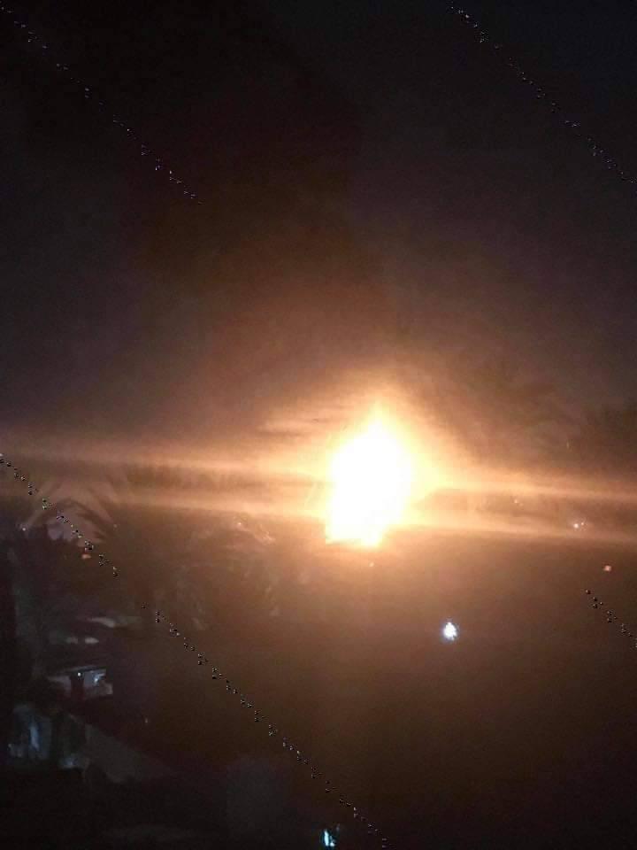Обстрел аэропорта Митига. 07.03.2020