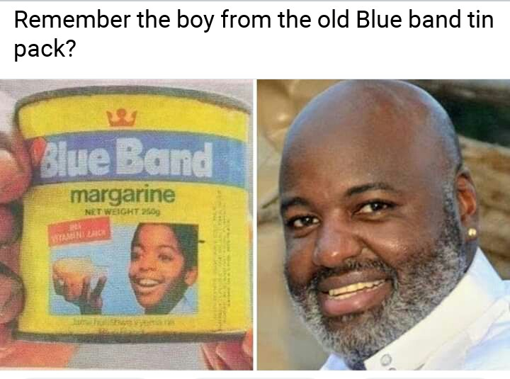 Image result for Do You Remember The Boy From The Old BlueBand Pack? See What He Looks Like Now (photos)