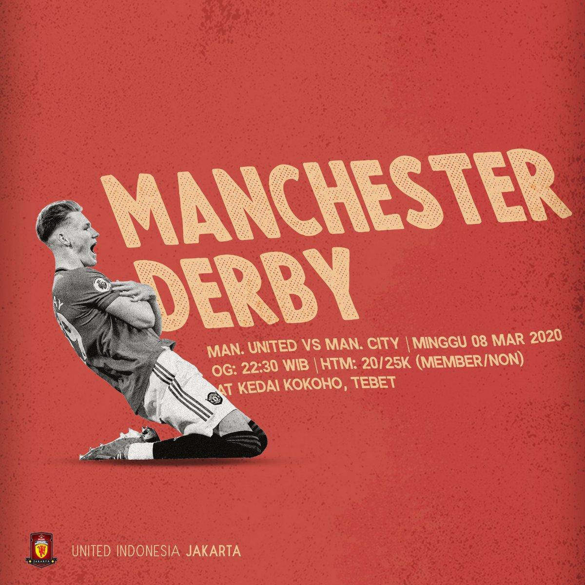 #LiveScreening malam ini!  Manchester Derby! Live at Kedai Kokoho Tebet, Open Gate jam 22.30, htm? 20/25 untuk member dan non member, see you guys!   #UIJKT https://t.co/TISS8DmSMi