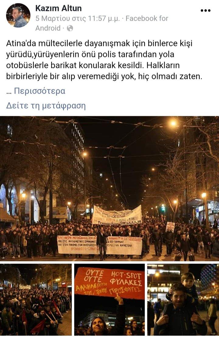 Αποτέλεσμα εικόνας για τούρκος «antίfa» KAZIM ALTUN