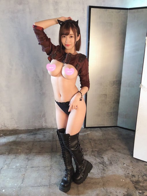 AV女優河合あすなのTwitter自撮りエロ画像45